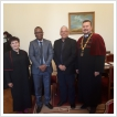 Dr. Mamadou Sidibé trading consul visited our Faculty