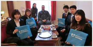 Japanese students at our Faculty
