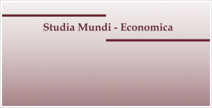 First issue of Studia Mundi-Economica in 2017 is now available